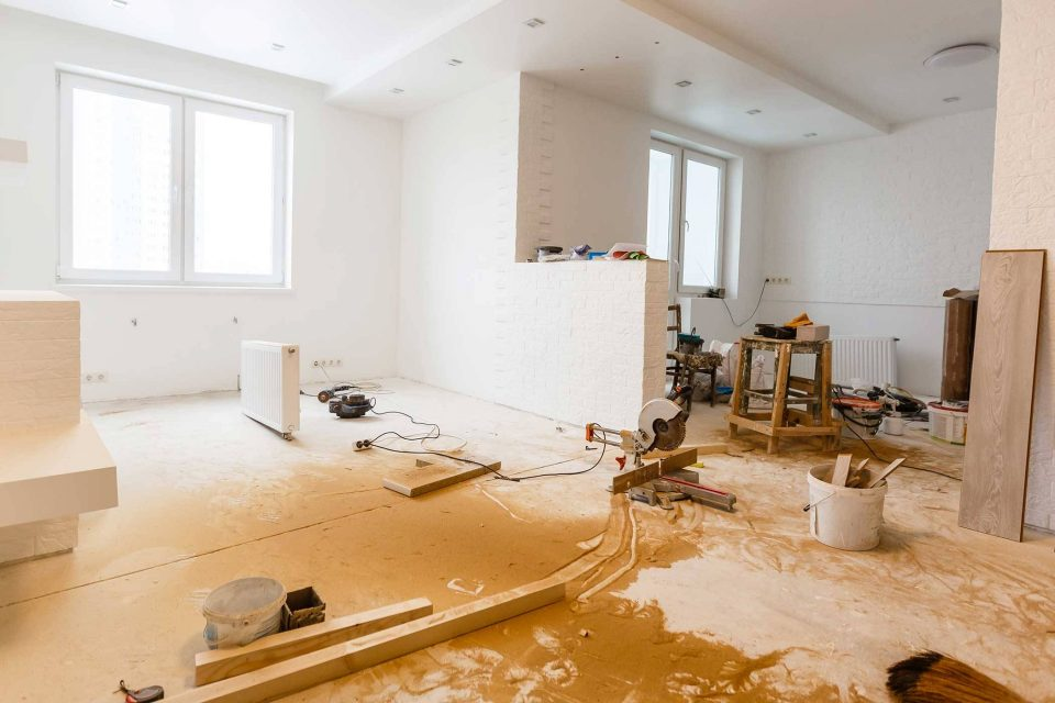 Post Construction Cleaning Lake City Restoration Kosciusko County In